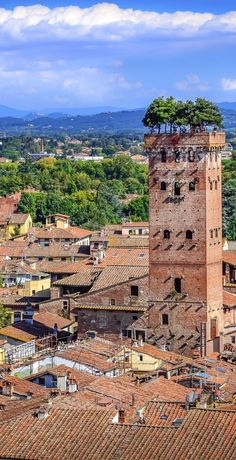 Lucca, Italy, Tuscany (from Conde Nast)