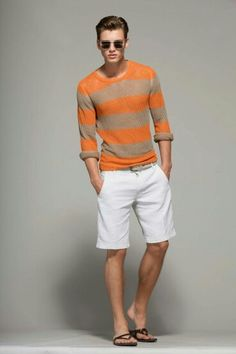Try a mix of #vibrant #orange n subtle #white to hv a #casual yet #classy #summer look fr ur #wardrobe #grooming #shorts #heat #summertime #styling #tips #stylerug #igers #like4like #mensgroomingtips #mensclothing #mensfashionblogs #fashion #bloggers fr more such updates .. visit us on www.stylerug.net