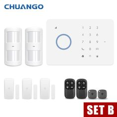Back To Search Resultssecurity & Protection Fuers Wireless Home Gsm Security Alarm System Kit Control With App Auto Dial Motion Detector Sensor Burglar Alarm System Security Alarm