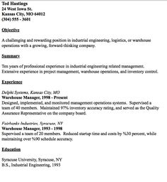 in post this time we will give a example about sample of director of example of warehouse manager resume that will give you ideas and provide a reference claims adjuster resume sample