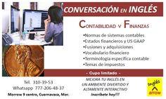 Cursos de conversación, temas específicos. Sesiones de 1 hora, contenido altamente interactivo. #ingles #cuernavaca