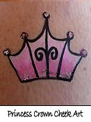 Princess Crown Cheek Art