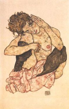 Risultati immagini per egon schiele die wange auf Painting Process, Painting & Drawing, Life Drawing, Figure Drawing, Gustav Klimt, Vintage Artwork, Art Graphique, Erotic Art, Art World