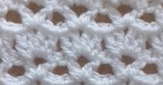 Check out and learn this cool and easy shell and v stitch pattern, I have used it in a few of my earlier designs.