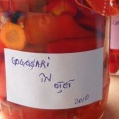 Gogosari in otet Nutella, Bottle, Desserts, Recipes, Food, Travel, Home Canning, Homemade, Canning