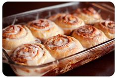 Awesome Cinnamon Rolls | The last time I shared these my youngest niece was just born, and since she just had her second birthday I thought it was good time to re-share! | From: sprinklewithflour.com