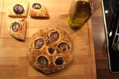 delicious red onion focaccia