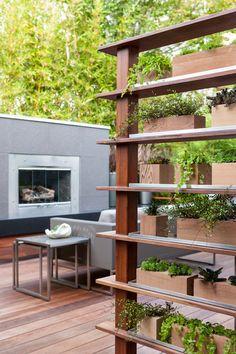 Contemporary Deck by Scot Eckley Inc