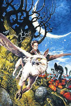 Cool Art: 'Harry Potter & The Prisoner Of Azkaban' by Alvaro Tapia