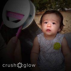 Happy 4th! Better baby pics with the Selfie Light  CRUSHGLOW.com  #baby #mom #momlife #mommy #kidsofinstagram #kids #selfies #se