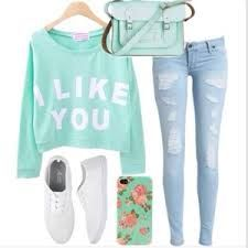 Teen fashion cute green mint green sweater vans Iphone case I love this outfit Cute Fashion, Look Fashion, Girl Fashion, Autumn Fashion, Fashion Outfits, Fashion 2016, Latest Fashion, Fashion Ideas, Fashion For Teens