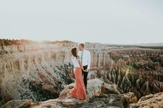 Bryce Canyon Engagements - Braden Young Photo @littlebrades Engagement Photo Inspiration, Engagement Pictures, Engagement Shoots, Wedding Pictures, Wedding Ideas, Visiting The Grand Canyon, Trip To Grand Canyon, Couple Portraits, Bridal Portraits