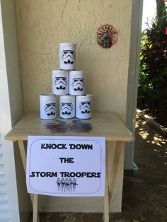 Star wars party games kids storm troopers 23 ideas for 2019 - Star Wars Bday - Ideas of Star Wars Bday - Could make it a ten pin bowling game for the teams. Star Wars Birthday Games, Star Wars Party Games, Birthday Star, Superhero Birthday Party, Birthday Party Games, Birthday Cakes, Superhero Cake, Birthday Recipes, Birthday Ideas