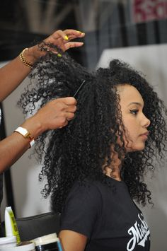 Afro Hair and Beauty Show 2012, London UK.