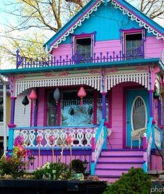 festive house