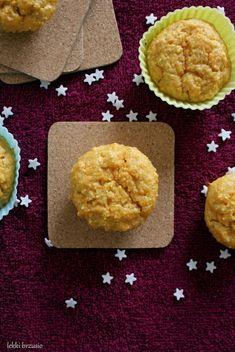 Lekki brzusio.: Muffinki marchewkowe fit