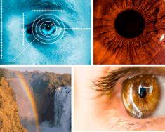 Apensar ojos y arcoiris. Ojo con señales que lo miden. Ojo marrón. Cataratas y arcoiris.Aquí tienes la solución que buscabas. ¡Que disfrutes!