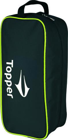 2015 Porta Chuteira Topper Training Boot preta/amarela