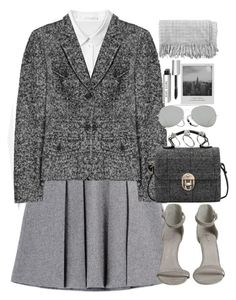 """""""Untitled #3388"""" by peachv ❤ liked on Polyvore featuring Zina, Fall Winter Spring Summer, Michael Kors, ASOS, Acne Studios, Meggie, Bobbi Brown Cosmetics, canvas, women's clothing and women's fashion"""