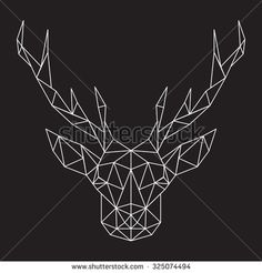 Deer Head ABSTRACT Stock Photos, Images, & Pictures | Shutterstock