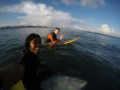 Just making selfie before the waves come😎😁🏄