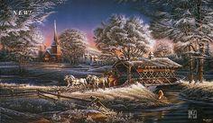 "Terry Redlin's ""Morning Frost"""