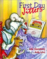 First Day jitters activities, complete with book and writing activities from The Kennedy Koral Blog