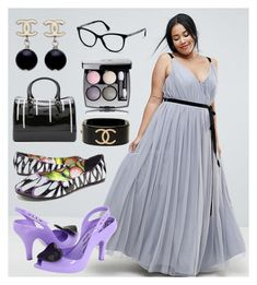"""""""Zoé's Wedding"""" by pwned-hurley on Polyvore featuring mode, ASOS Curve et Chanel"""