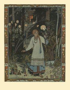 """art-is-art-is-art:  Illustration for the fairy tale """"Vasilisa... - http://wp.me/p6qjkV-lPC  #Art"""