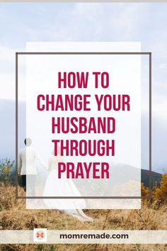 Do you want to know how to change your husband without saying a word? Yes, it is possible! You have to be patient though. The best way to change your husband is through prayer. Check out how to use scripture to help your relationship and watch God work! #scripture #prayer #husband #wife #marriage #Christian Marriage Scripture, Marriage Prayer, Biblical Marriage, Marriage Humor, Marriage Problems, Faith Prayer, Marriage Advice, Love And Marriage, Marriage Goals