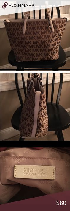 Michael Kor handbag Mk handbag great condition stain on the inside shown in one of the pictures no stains on the outside 11x16 MICHAEL Michael Kors Bags Shoulder Bags