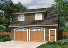 Garage Studio with Shed Dormer - 69472AM | 2nd Floor Master Suite, CAD Available, Carriage, PDF | Architectural Designs