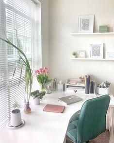 Ikea Home Office, Home Office Setup, Home Desk, Home Office Organization, Home Office Space, Office Ideas, Office Decor, Office Spaces, Corner Office Desk