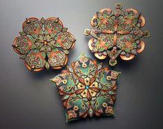 trio of lacy mandalas   Flickr: Intercambio de fotos