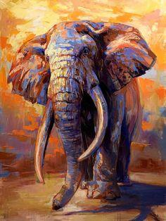 Elephant Artwork, Elephant Wallpaper, Elephant Poster, Elephant Print, Elephant Paintings, Elephant Canvas Art, Elephant Elephant, Colorful Elephant, Elephant Images