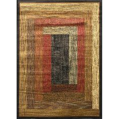 Home Dynamix Royalty Collection 41019-450 Black Area Rug