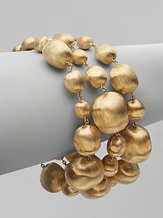 Marco Bicego 18K Yellow Gold Bead Bracelet