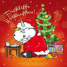 Pummeleinhorn Weihnachten