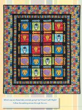 Which Way to the Zoo Digital Quilt Pattern from ShopFonsandPorter.com