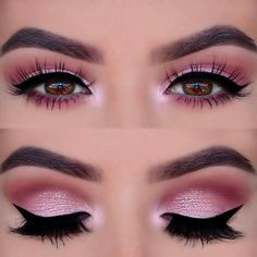 Pink is so soft and feminine! #eyeshadowsinspiration