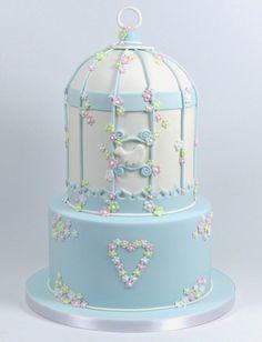2 Tier Birdcage Cake Decorating Tutorial (Bird Cage)