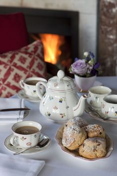 All tea and scones!