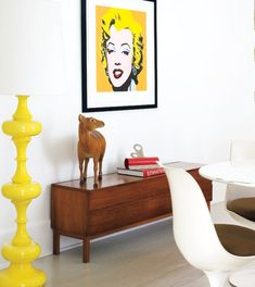 Bright Apartment Design With Pop Art Details | DigsDigs