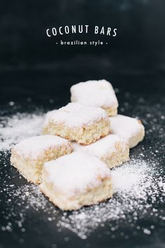 The House That Lars Built.: Brazilian coconut bars