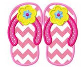 I am so proud to be included in this cute Treasury List of flip flops!