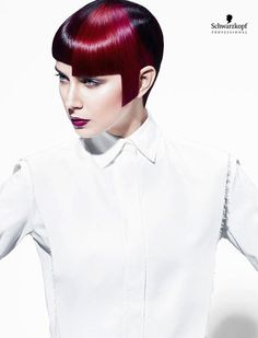 White Angles Collection (Short). Essential Looks Spring-Summer 2013. Schwarzkopf Professional.