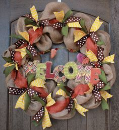 Here I show you how to add the ribbon and other details to your wreath. Missed Part 1-