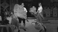 Bing Crosby, Danny Kay, White Christmas Movie Gif