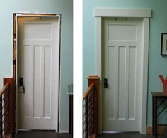 Door Casing Ideas | craftsman style door casing ideas - Google Search | For the Home