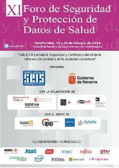XI Foro de Seguridad y Protección de Datos de Salud. 19 y 20 de febrero en el Planetario de Pamplona #Pamplona